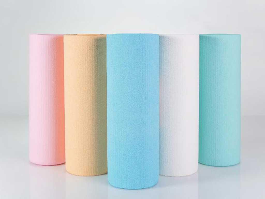Tablier en papier poly thyl ne - Rouleau de polyethylene ...